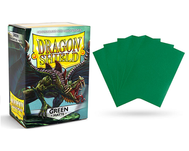 Dragon Shield - Fundas Green Matte