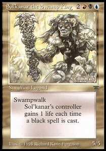 Sol'kanar, el rey del pantano / Sol'kanar the Swamp King