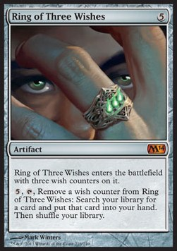 Anillo de los tres deseos / Ring of Three Wishes