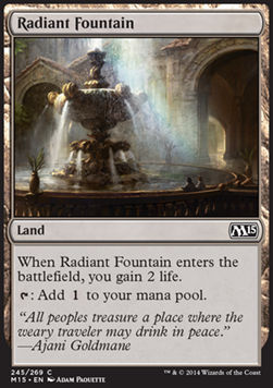Fuente radiante / Radiant Fountain
