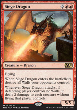 Dragon de asedio / Siege Dragon