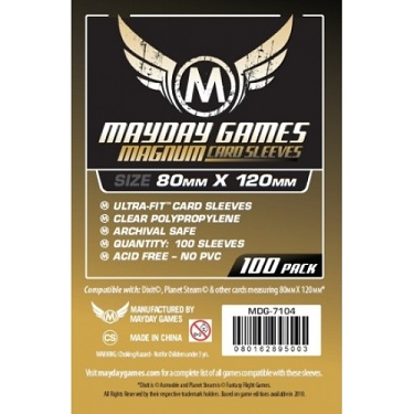 Mayday: Magnum Sleeves 80x120mm (100)