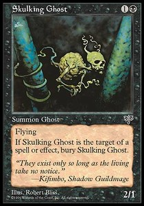 Anima huidiza / Skulking Ghost