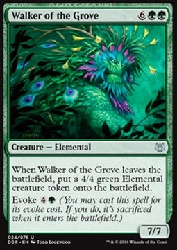 Caminante de la arboleda / Walker of the Grove