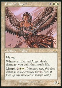 Angel exaltado / Exalted Angel