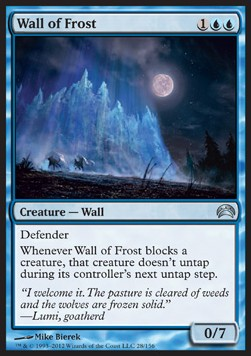 Muro de escarcha / Wall of Frost