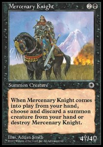 Caballero mercenario / Mercenary Knight