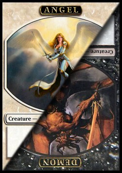 Token Angel / demonio / Angel / Demon Token **PROMO**