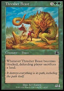 Bestia Trilladora / Thresher Beast