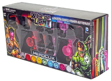 War of Light - Lantern Corps Power Batteries Red & Saphire