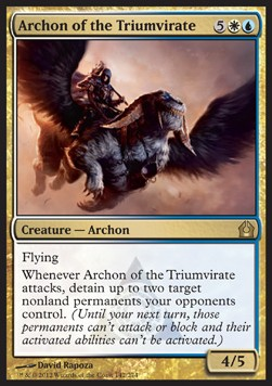 Arconte del triunvirato / Archon of the Triumvirate