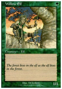 Elfo de los sauces / Willow Elf