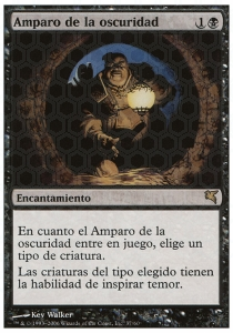 Amparo de la oscuirad / Cover of darkness