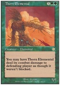 Elemental de espinas / Thorn Elemental