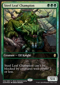 Steel Leaf Champion **PROMO**
