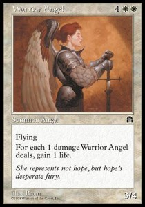 Ángel guerrero / Warrior Angel