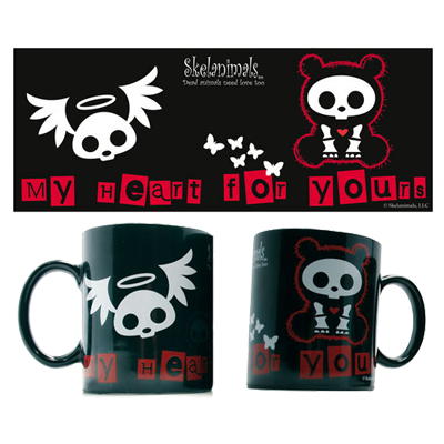 Skelanimals: Mug My Heart 320ml