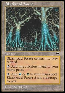 Bosque de Veloceleste / Skyshroud Forest