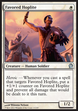 Hoplita favorito / Favored Hoplite