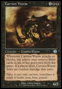 Carrion Wurm
