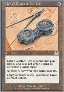 Urza's Contact Lenses
