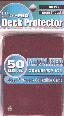 Ultra Pro - Metalized Cranberry Ice 50 Uds.