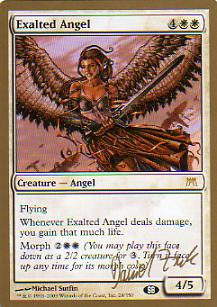 Ángel exaltado / Exalted Angel
