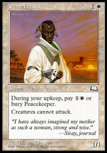 Pacificadora / Peacekeeper