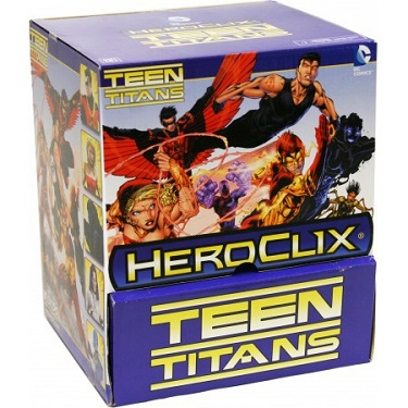 Caja completa Gravity Feed Teen Titans